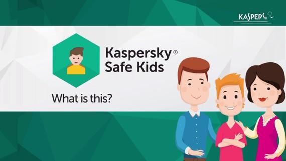 Kaspersky Safe Kids giúp trẻ con tiếp xúc với mạng an toàn hơn