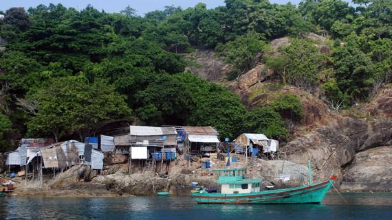 Đảo Hòn Chuối thuộc thị Trấn Sông Đốc