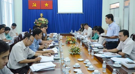 Ban Kinh tế - Ngân sách HĐND TPHCM khảo sát tại huyện Nhà Bè (TPHCM)