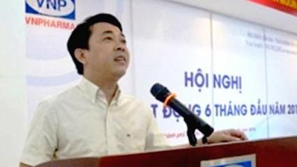 Bị can Nguyễn Minh Hùng trong vụ nhập khẩu thuốc chữa ung thư giả