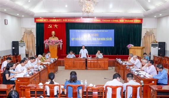 Hội thảo góp ý Luật phòng chống tham nhũng sửa đổi