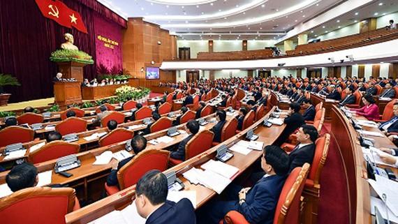 Hội nghị Trung ương 6, khoá 12 đã ban hành Nghị quyết về đổi mới, sắp xếp tổ chức bộ máy. Ảnh: VGP