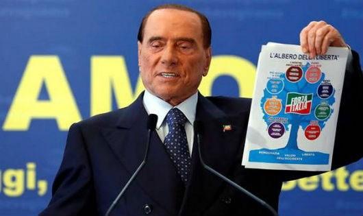 Cựu Thủ tướng Italy Silvio Berlusconi