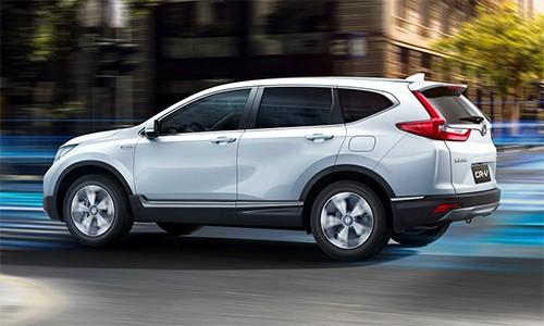 Honda CR-V bản hybrid ra mắt tại Trung Quốc
