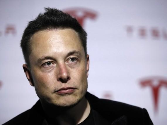 Người sáng lập Tesla kiêm giám đốc điều hành Elon Musk.