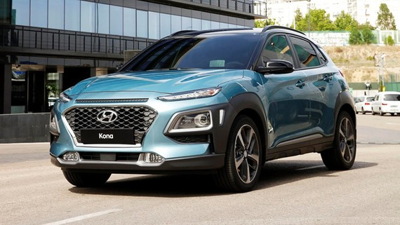 Hyundai Kona sẽ có thêm phiên bản chạy hoàn toàn bằng điện vào năm sau