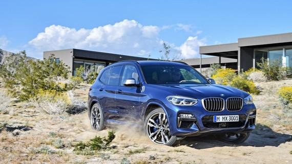 Chi tiết SUV hạng sang cỡ nhỏ BMW X3 2018