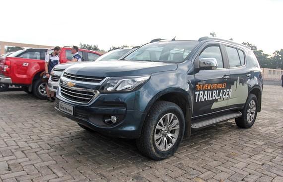 Chevrolet Trailblazer chính thức trình làng thị trường Việt Nam vào đầu tháng 8 tới.