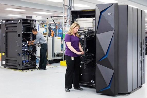 IBM đang tập trung mạnh vào lĩnh vực an ninh không gian mạng.