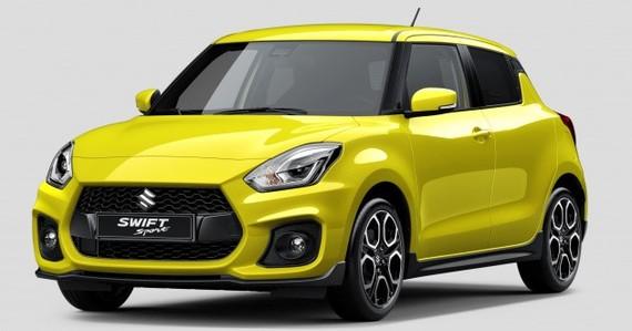 Suzuki Swift Sport có thiết kế thể thao sắp ra mắt.