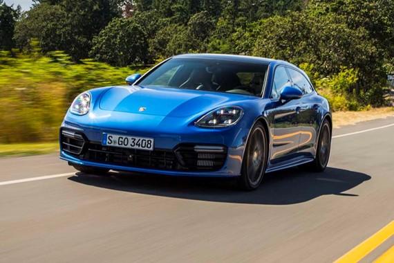 Porsche Panamera Sport Turismo bắt đầu sản xuất tại Đức