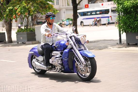 Siêu mô tô đường trường Honda Vankyrie Rune tại TP.HCM