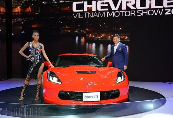 Chevrolet Corvette Grand Sport 2017 xuất hiện tại Vietnam Motor Show 2017.