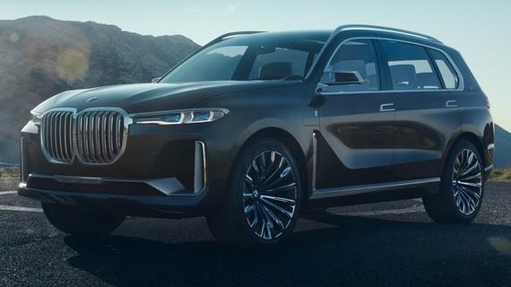 SUV hạng sang 7 chỗ BMW X7 iPerformance hoàn toàn mới