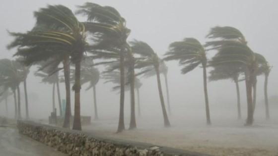 Áp thấp nhiệt đới đã đi vào các tỉnh Hà Tĩnh-Quảng Bình