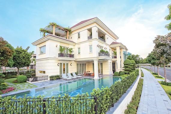 Nhà mẫu biệt thự Saroma Villa