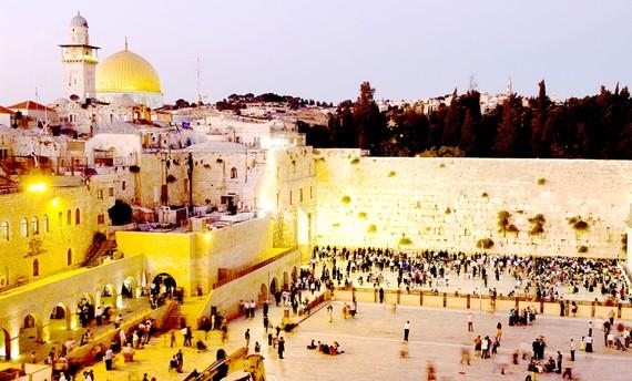 Một góc thành phố Jerusalem. Ảnh: National Geographic
