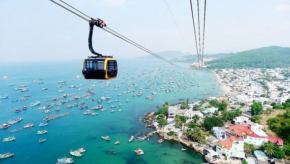 Cáp treo Hòn Thơm (Phú Quốc, Kiên Giang) hấp dẫn du khách nhất hiện nay