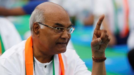Ứng cử viên Ram Nath Kovind đang có lợi thế. Ảnh: REUTERS
