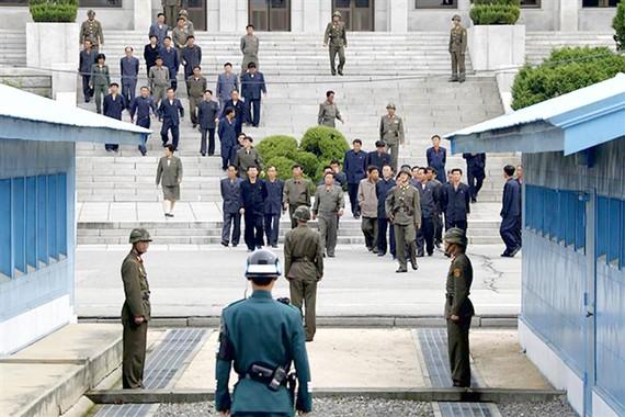 Khu vực phi quân sự Panmunjom - nơi từng diễn ra các cuộc hòa đàm giữa hai miền Triều Tiên
