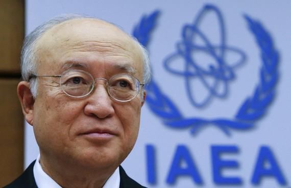Tổng Giám đốc IAEA Yukiya Amano. (Ảnh: EPA)