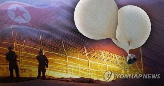 N.K. claims S. Korea fired shots at birds, not balloon