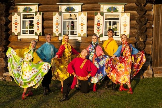 A song and dance: The Ural State Russian Folk Choir will perform at the Vietnam National Academy of Music on June 12 at 8pm. (Photo courtesy of the Embassy of Russia)