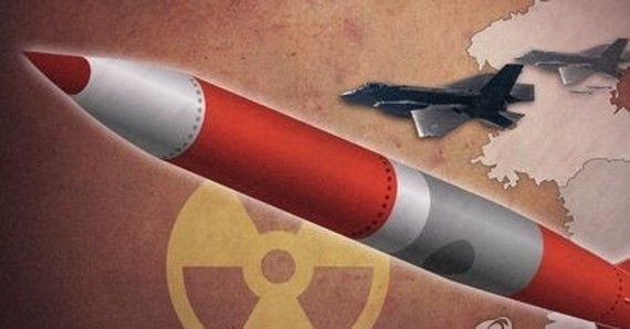 A graphic image of tactical nuclear weapons (Yonhap)