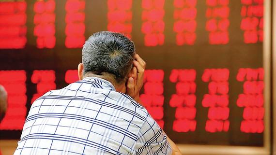 Thị trường chứng khoán châu Á rớt điểm, một phản ứng tiêu cực với các bê bối chính trị của Tổng thống Mỹ Donald Trump.