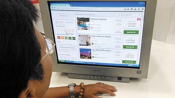 Traveloka - một trang mạng nước ngoài kinh doanh lĩnh vực đặt phòng khách sạn tại Việt Nam