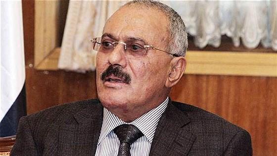 Cựu Tổng thống Yemen Ali Abdullah Saleh. Ảnh: AP