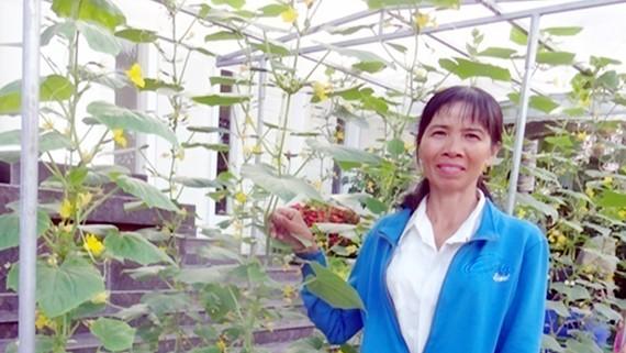 """Chị Đào tham dự diễn đàn KN@ """"Giải pháp Ứng dụng công nghệ cao trong sản xuất nông nghiệp đô thị"""""""