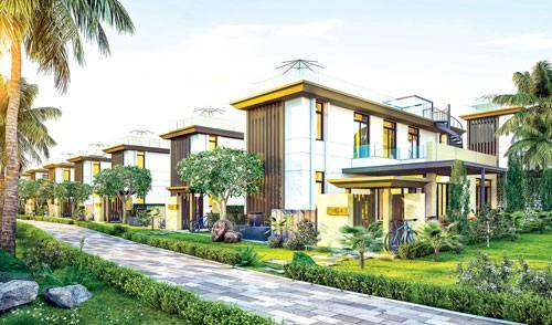 Phối cảnh biệt thự Cam Ranh Mystery Villas.