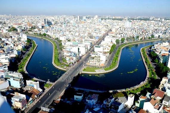 Kênh Nhiêu Lộc - Thị Nghè, công trình tạo điểm nhấn cho TPHCM.