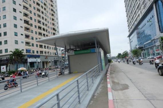Làn đường dành cho buýt nhanh