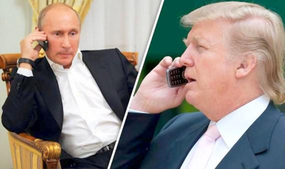 Cuộc điện đàm giữa hai nhà lãnh đạo Nga - Mỹ