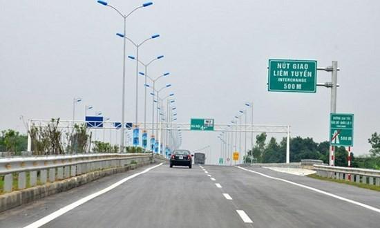 Cao tốc Cầu Giẽ- Ninh Bình được khai thác toàn tuyến từ 2012