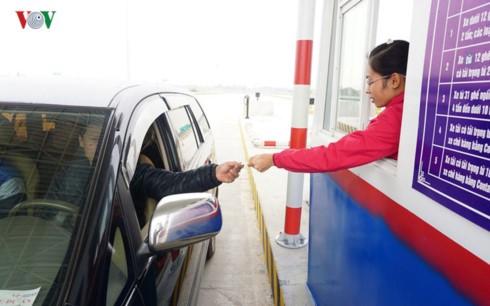 Thu phí cao tốc Hà Nội - Hải Phòng