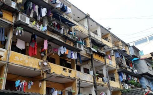 Những khu chung cư có diện tích phòng dưới 30m2 vẫn đang tồn tại từ hàng chục năm nay ở Hà Nội