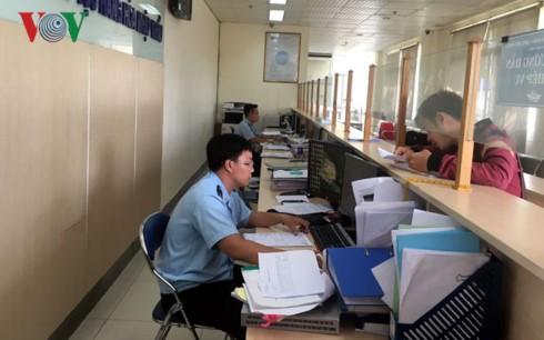 Doanh nghiệp thực hiện thủ tục hải quan tại cửa khẩu cảng Hiệp Phước