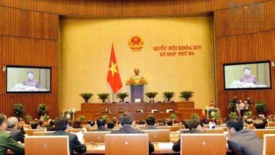 Khai mạc kỳ họp thứ ba, Quốc hội khóa XIV . Ảnh: quochoi.vn
