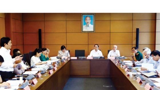 Đoàn đại biểu Quốc hội TPHCM thảo luận tại tổ