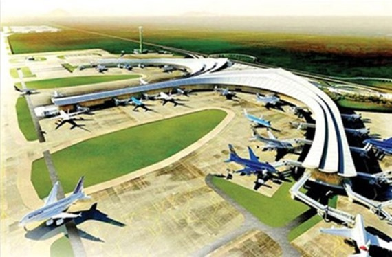 Phối cảnh một góc sân bay quốc tế Long Thành.