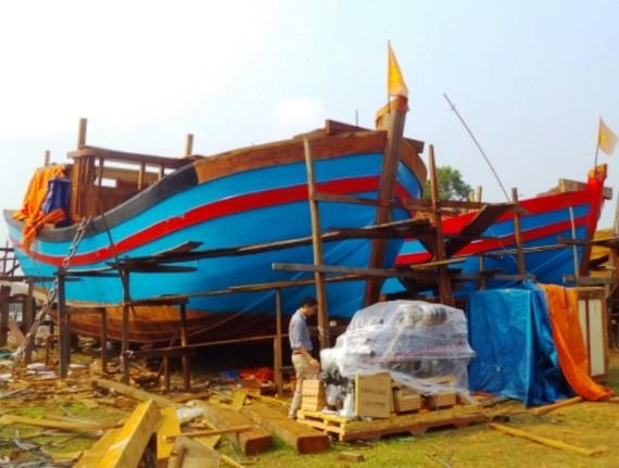 Thẩm định chất lượng 18 tàu cá vỏ thép
