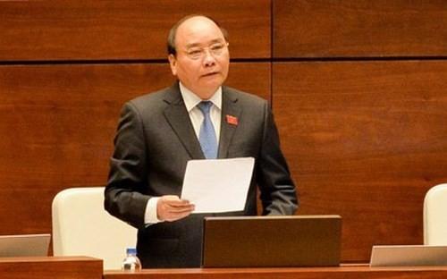Thủ tướng sẽ trả lời chất vấn trực tiếp trước Quốc hội