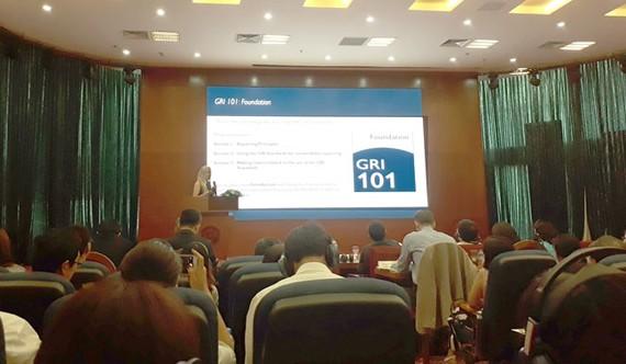 Ra mắt bộ tiêu chuẩn quốc tế về báo cáo bền vững