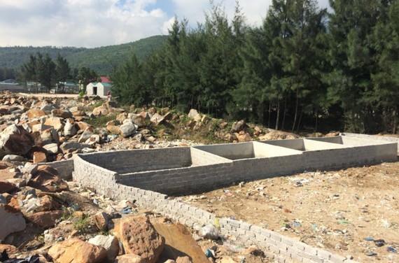 Được xây dựng công trình tạm trên đất trống