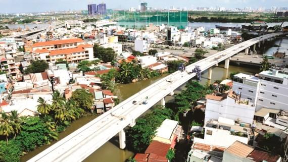 Tuyến Metro Bến Thành - Suối Tiên Ảnh: CAO THĂNG