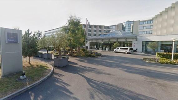 Khách sạn Novotel tại sân bay Charles-de-Gaulle ở Paris, Pháp. Ảnh: GOOGLE STREETVIEW