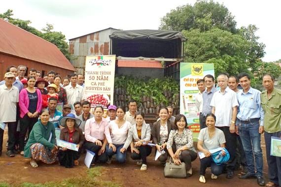 Hỗ trợ người nông dân trồng cà phê Buôn Ma Thuột